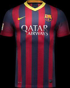 Barcelona FC Home Kit (Nike, 2013/2014)