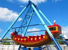 pirate ship fairground ride supplier- Beston group