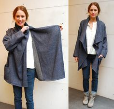 Metier: This Just In: Isabel Marant ~ NEAT! Maybe I can make a rain jacket! Just add a hat!
