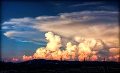 Explosive Clouds -- By David LaSpina