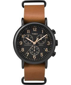 Weekender™ Chrono Oversized   Global Timex