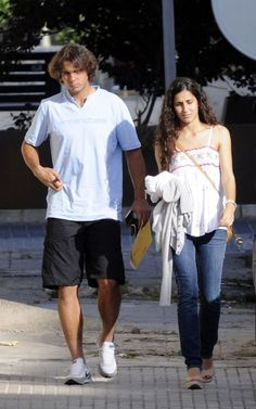 RAFAEL NADAL AND GIRLFRIEND XISCA PERELLO SPOTTED STROLLING IN ...