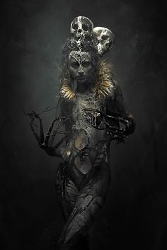 Moderne Kunst Bilder - Memories Of A Dream In Stefan Gesell Photography - . Dark Gothic, Gothic Art, Dark Fantasy Art, Fantasy Women, Arte Horror, Horror Art, Gothic Horror, Dark Art Photography, Macabre Photography