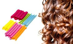 image for Heatless Hair Curler Set (20-Piece)