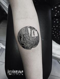 Salem witchcraft tattoo #blackwork #salem #witch #tattoo