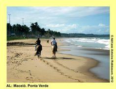 MACEIÓ (AL): Ponta Verde Beach  http://insiderbrazil.wordpress.com/2012/04/23/travel-in-brazil-alagoas-03-ponta-verde-beach-maceio/