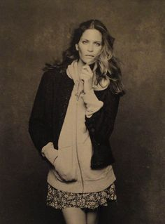 Frankie Rayder, by Karl Lagerfeld for the Little Black Jacket