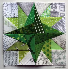 free paper piecing block  xxx