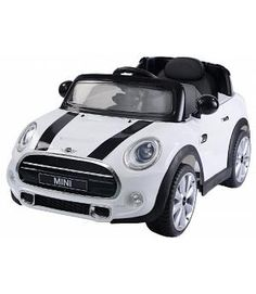 Mini Cooper blanco infantil 12v con mando