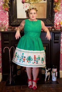 1950's Style Christmas Nutcracker Dress - Silly Old Sea DogSilly Old Sea Dog