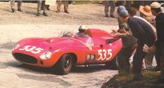 1957 Mille Miglia, Piero Taruffi, Ferrari 315S