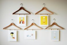 20 Unexpected Ways to Hang Pictures on YourWall | StyleCaster