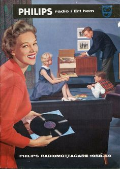 PHILIPS PHONOGRAPH catalog cover (1958-59)