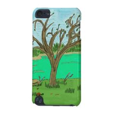 Creek with Tree iPod Case