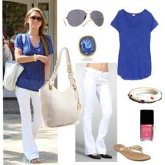 how to wear white after labor day - jeans
