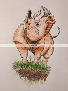 You can purchase this rhinoceros print from my Etsy account (Bawchee)