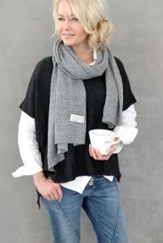 Cashmere Oversize, ALMOST BLACK