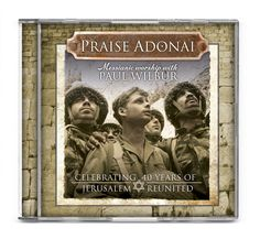 Featuring the messianic worship songs of Paul Wilbur, Praise Adonai celebrates the 40 Year anniversary of the reunification of Jerusalem and the liberation of the Temple Mount. Joyful songs like Prais Temple Mount, Learn Hebrew, Christian Music, Christian Faith, Reunification, Worship Songs, Jerusalem, Miraculous, Israel