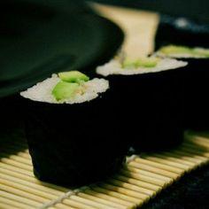 Rolls with avocado