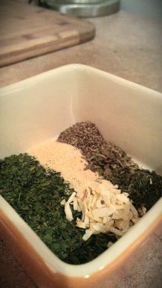 Homemade ranch mix - no more packets!