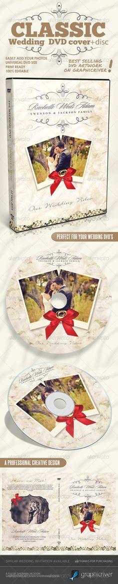 Classique Wedding DVD Covers