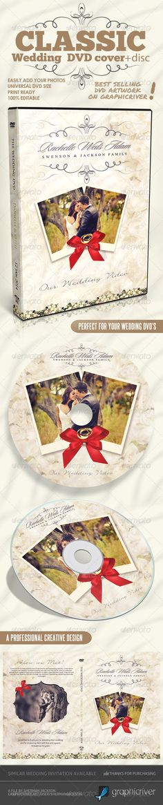 Classique Wedding DVD Covers