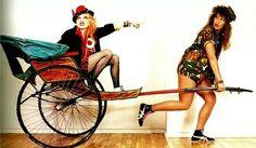 Cyndi Lauper and Wendi Richter