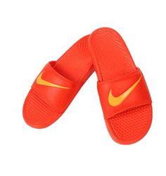 6cb17f0f7 NIKE BENASSI SWOOSH Orange Slide Sandal 312618 880 Flip Flop Sz11-13 Fast  ship O  flip  flop  fast  ship  sandal  slide  benassi  swoosh  orange  nike