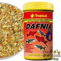 Aproveitem! Somente hoje!  RAÇÃO PARA PEIXE DAFNIA VITAMINADA 28G TROPICAL por R$15,84*.  A ração para peixe DAFNIA VITAMINADA da TROPICAL é um alimento básico composto por dáfnias secas, aos quais foram enriquecidas com vitaminas selecioanadas para as espécies de peixes ornamentais.  http://www.petstima.com.br/product_info.php?products_id=18762  Visitem: www.petstima.com.br  Regras e Condições: - *Valor referente para pagamento via Transferência ou Depósito.
