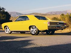 1967 Chevrolet Chevelle SS Rear Driver Side