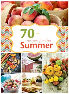 This website has a bunch of different recipes that would make the perfect summer meals!
