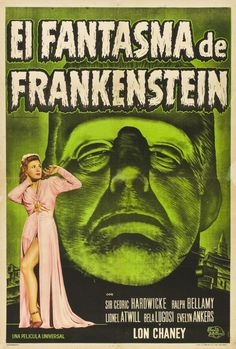 The Ghost of Frankenstein (1942), Argentinian re-release