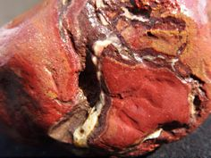 Rough Red Jasper Stone. Natural Raw Jasper Gemstone Mineral