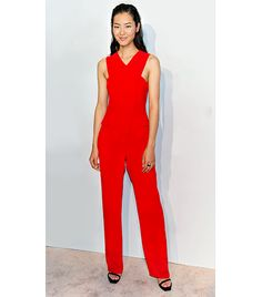 @Who What Wear - Liu Wen                 Style: Minimal  On Wen: S/S 14 Opening Ceremony jumpsuit