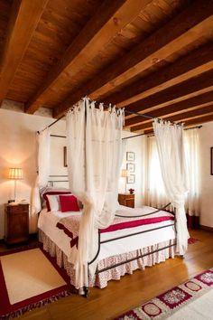 Esse quarto dos sonhos faz parte de um refúgio campestre incrível. Confira!