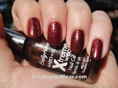 Sally Hansen Pumpkin Spice-- this is such a beautifuk color. ..I definitely want this!!!