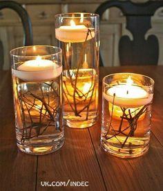 Вода, свічки, гілки...