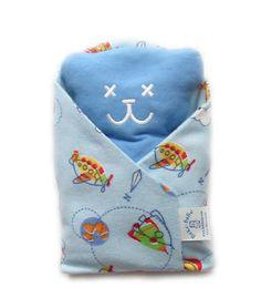Ourson Béké-bobo Garçon très utile si votre bébé à des coliques ou de petits maux de ventre