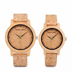 Cool Watches: Hot Offer BOBO BIRD Lovers Watches Wooden Timepieces Handmade Cork Strap Bamboo Women Watch Luxury in Box Accept Logo Drop Shipping Uganda, Cool Watches, Watches For Men, Women's Watches, Watches Online, Sport Watches, Luxury Watches, Unisex, Couple Cases