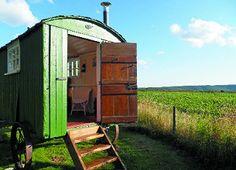 Old shepherd's hut