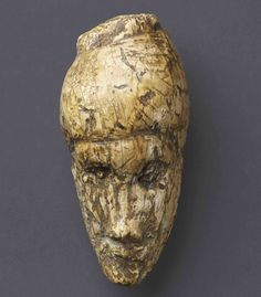 The oldest known portrait, 26,000 years old