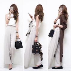 Office Fashion, Emo Fashion, Art Deco Fashion, Korean Fashion, Fashion Outfits, Womens Fashion, Ladies Fashion, Casual Date, Casual Chic