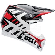 2015 Bell Moto 9 Carbon Flex Helmet - Syndrome Red