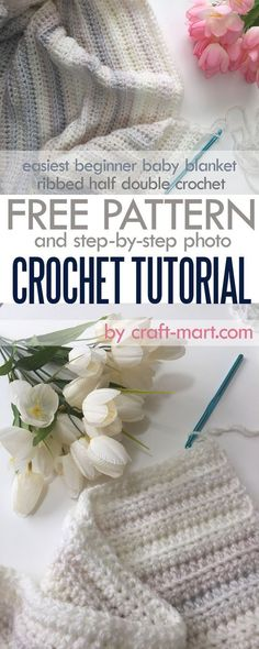 Either you are new to this wonderful yarn craft of crochet or just want a simple pattern where you don't have to follow elaborate instructions and count stitches and rows, this super-easy baby blanket crochet pattern is for you. But in the end, you will have a soft, squishy, warm blanket to warm up and welcome someone special into the world. #crochetpattern #babyblanket