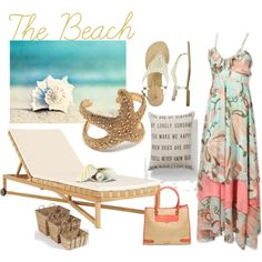 Starfish, created by beachpeace on Polyvore