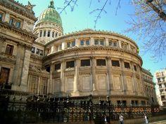 Edificio del Congreso, vista posterior. Buenos Aires