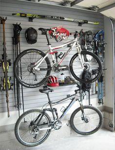 Bike & gear storage #MilanDirectIndustrial