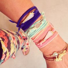 Ashlar Rivington wrap bracelets.