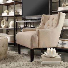 Three Posts Dawan Tufted Accent Arm Chair