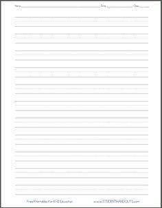 free printable homework sheets